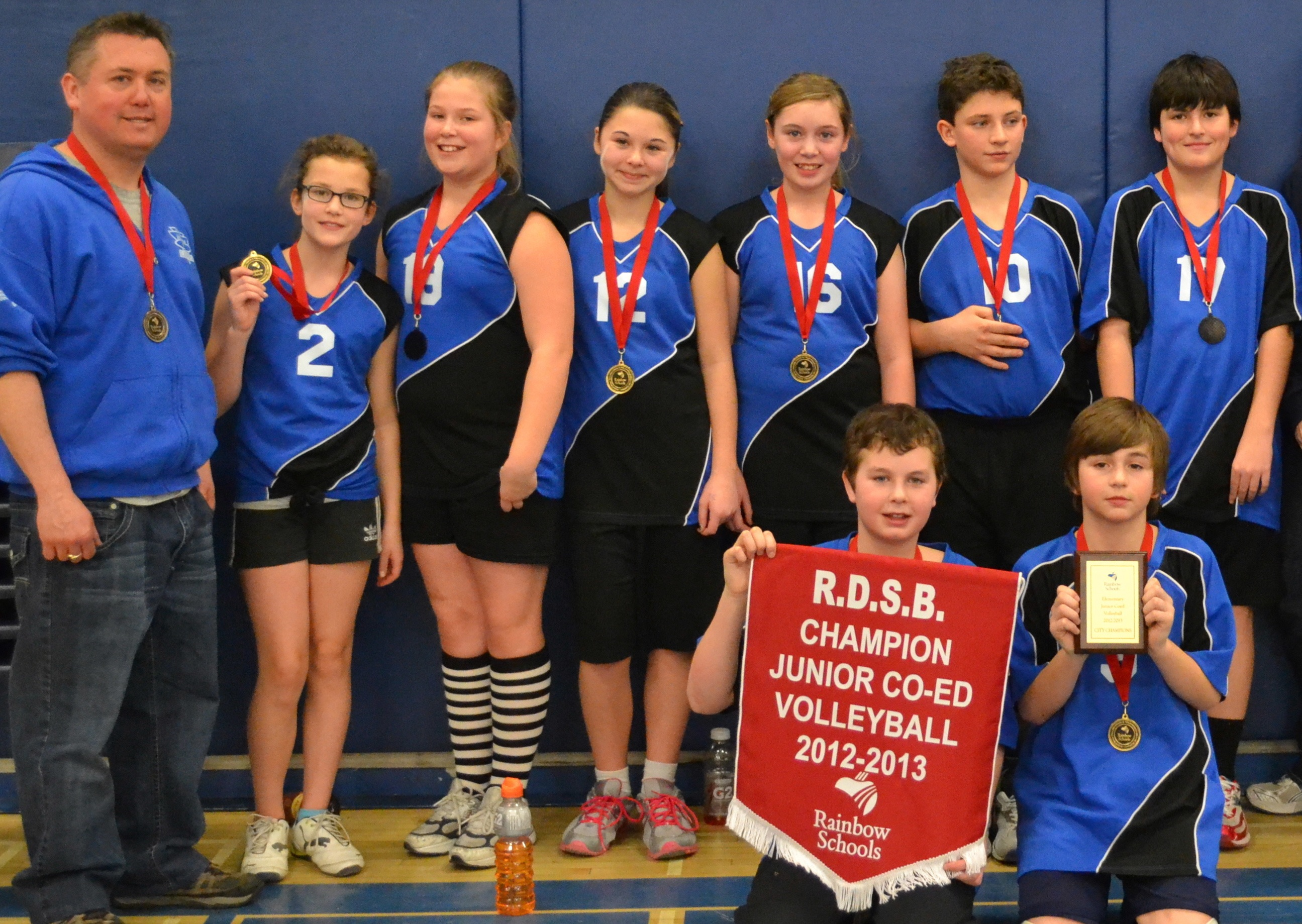 Larchwood Lasers win first place