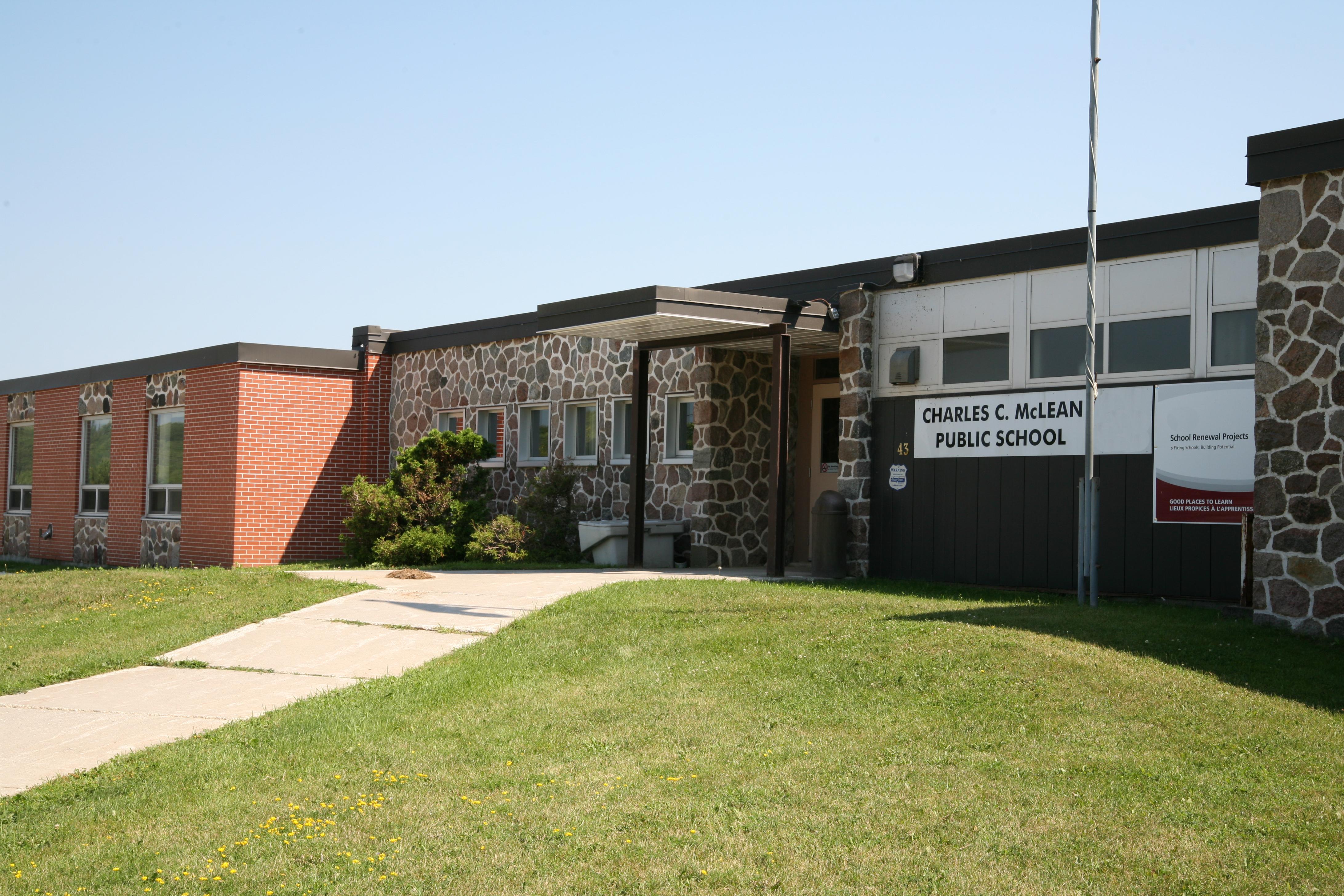Charles C McLean Public School logo