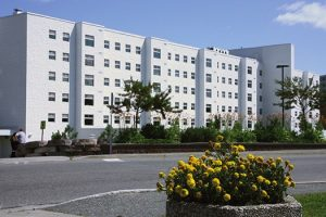 An image of Laurentian University residence