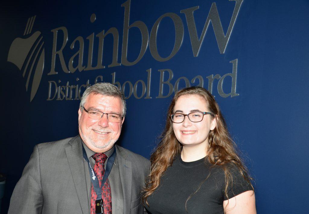 Madeleine and Director Blaseg