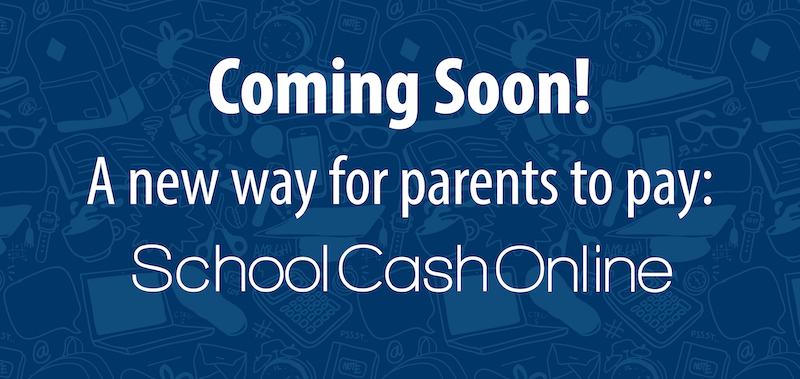 Coming soon School Cash Online banner