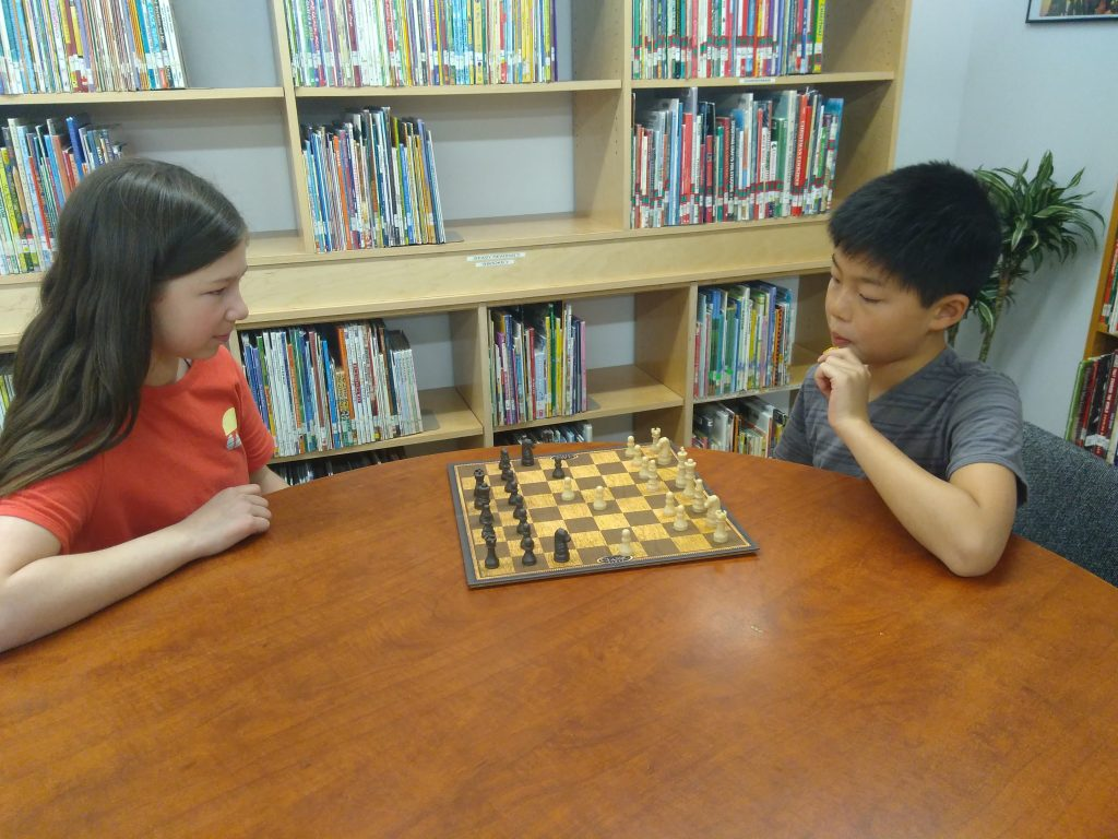 Students chess